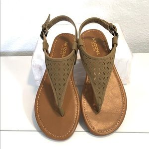 "AZ Jean - Natural ""Seymour"" Sandals"